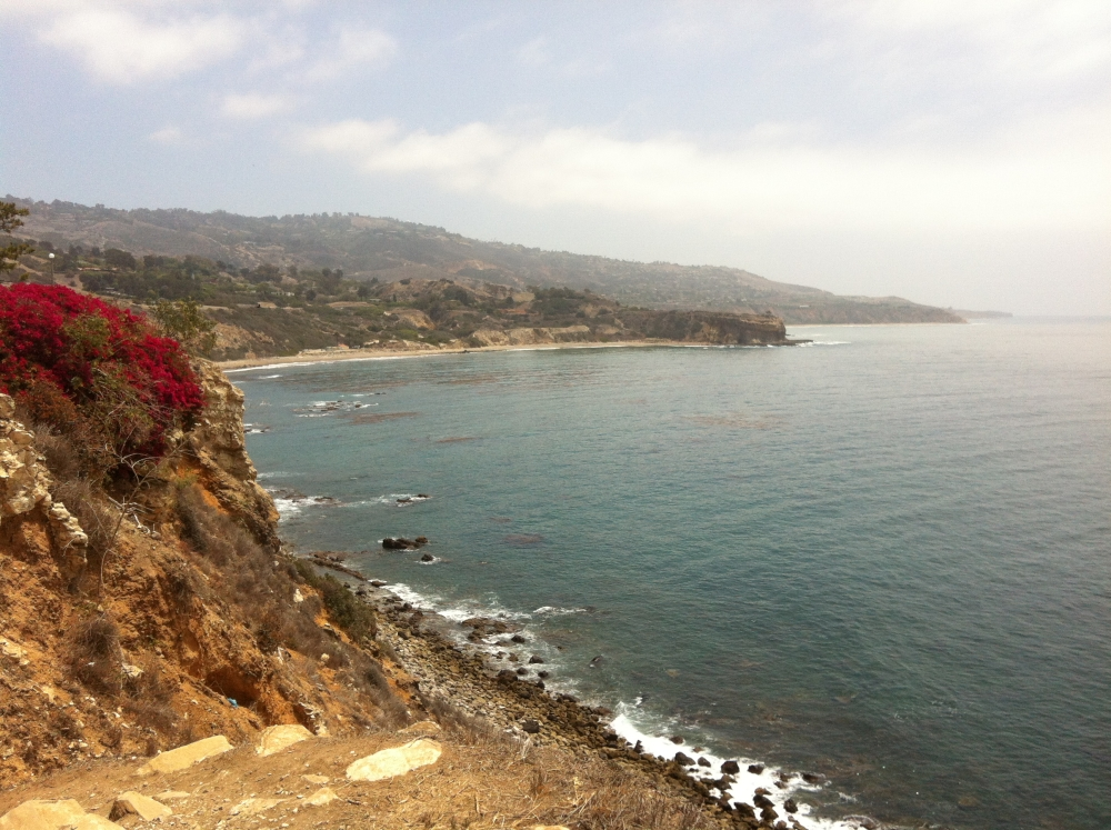 The coast of Palos Verdes