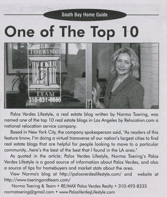 Daily Breeze Blog Top 10 052009