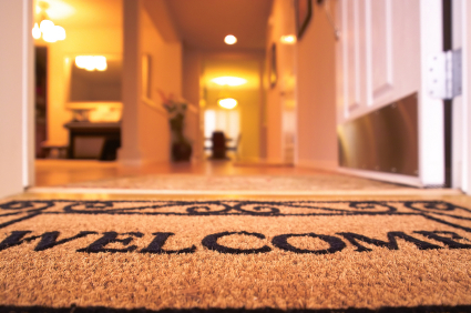 blog welcome mat