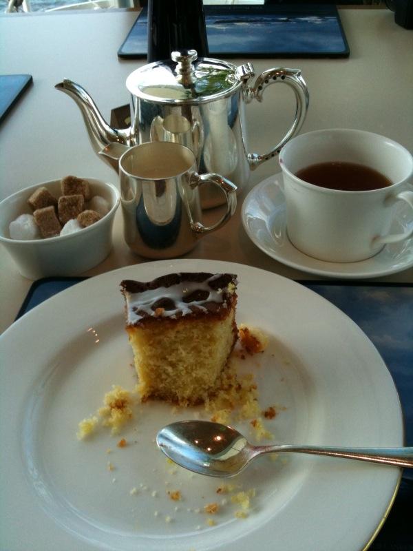 Tea on Royal Britannia