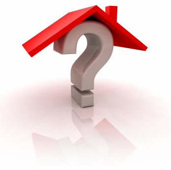 blog house with question mark
