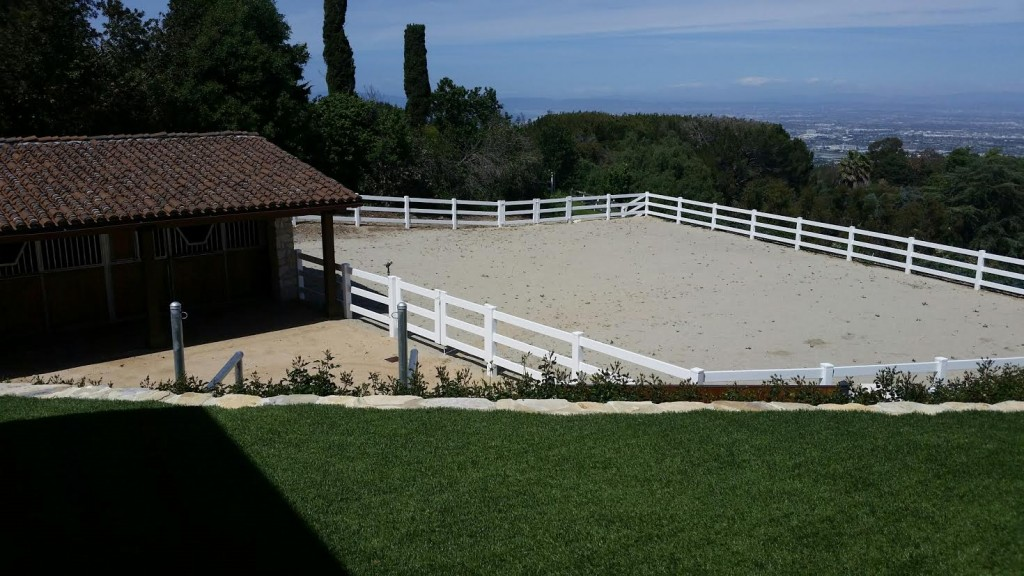 Riding Ring with Million Dollar View