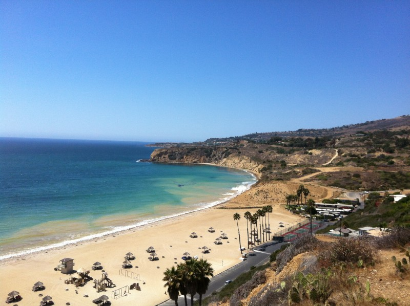 Portuguese Bend Beach Club in Palos Verdes
